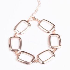 Basic Geometry - Rose Gold Bracelet